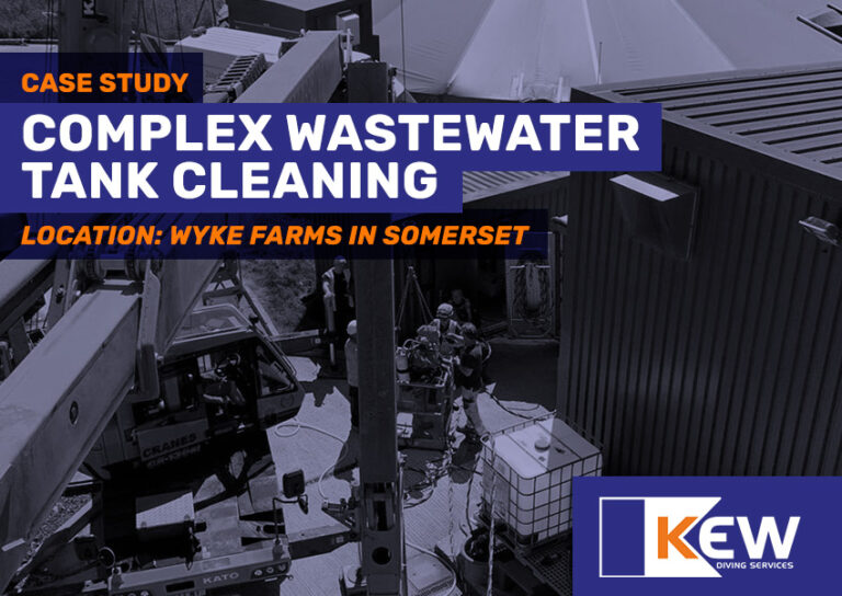 Complex Underwater Diving Project for Wastewater Tank